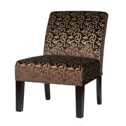 Cortesi Home Castano Accent Slipper Chair