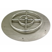 American Fireglass Fire Pit Flat Pan; 18''