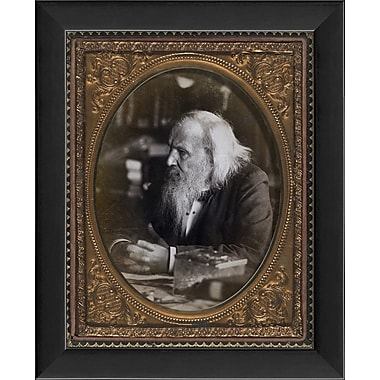 The Artwork Factory Dmitri Mendeleev Framed Photographic Print