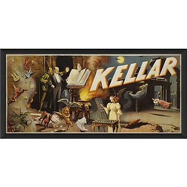 The Artwork Factory Kellar 1894 Framed Vintage Advertisement