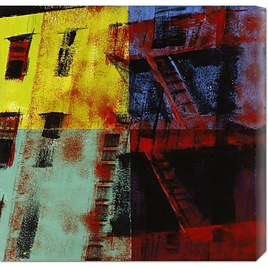 Global Gallery 'Multicolored Escapes' by Patti Mollica Painting Print on Wrapped Canvas