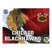Holland Bar Stool NHL Graphic Art on Wrapped Canvas; Chicago Blackhawks
