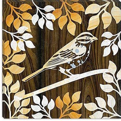 iCanvas ''Birdie II'' by Erin Clark Graphic Art on Canvas; 37'' H x 37'' W x 1.5'' D