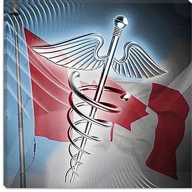 iCanvas Canadian Health Care #2 Graphic Art on Canvas; 26'' H x 26'' W x 1.5'' D