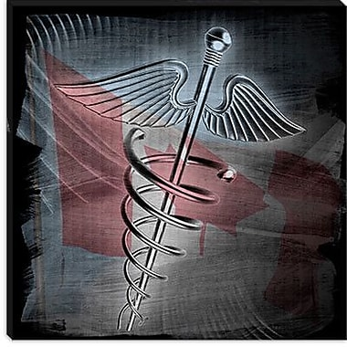 iCanvas Canadian Health Care #3 Graphic Art on Canvas; 18'' H x 18'' W x 0.75'' D