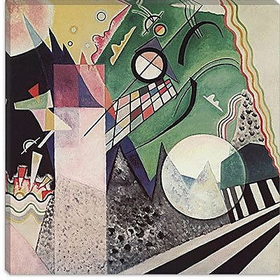 iCanvas ''Composition'' by Wassily Kandinsky Painting Print on Canvas; 37'' H x 37'' W x 0.75'' D