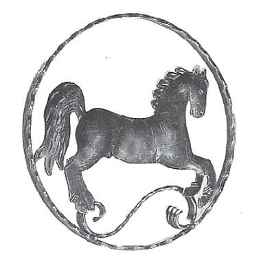 DJA Imports Horse Head Statue; Right
