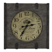 Cooper Classics Oversized 23.5'' St.Clair Wall Clock