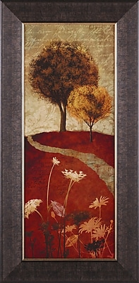 Art Effects Autumn Trees II by Conrad Knutsen Framed Painting Print
