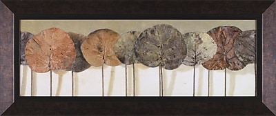 Art Effects Leaves Show II Framed Painting Print
