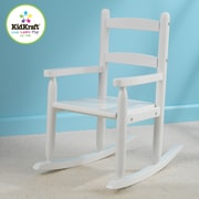 KidKraft 2 Slat Kids Rocking Chair; White