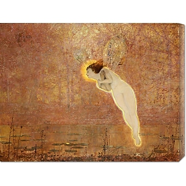 Global Gallery 'Iris' by John Atkinson Grimshaw Painting Print on Wrapped Canvas