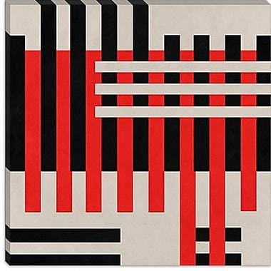iCanvas Modern Intersection Graphic Art on Canvas; 37'' H x 37'' W x 0.75'' D