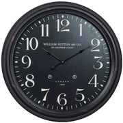 Cooper Classics Oversized 24.5'' Norton Wall Clock