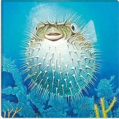 iCanvas ''Puffer Fish'' Canvas Wall Art by Durwood Coffey; 18'' H x 18'' W x 0.75'' D