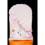 zCush Cotton Characters Nap Mat; Pink Lamb