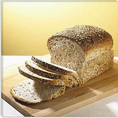 iCanvas Food and Cuisine Sliced Bread Photographic Print on Canvas; 37'' H x 37'' W x 1.5'' D