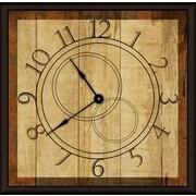 Green Leaf Art Time Machine 11'' Art Wall Clock