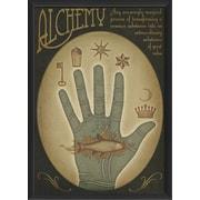 The Artwork Factory Alchemy Hand Framed Graphic Art; Blue
