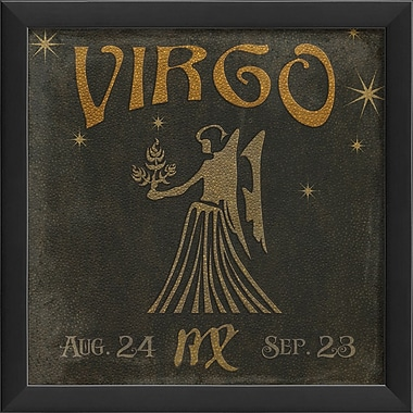 The Artwork Factory Zodiac Virgo Framed Graphic Art
