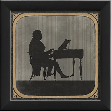 The Artwork Factory The Piano Framed Graphic Art