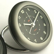 Bai Design Rondo Travel Alarm Clock; Helio Gunmetal Niteglow