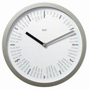 Bai Design 10'' Spellbound Designer Wall Clock