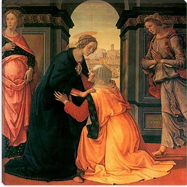 iCanvas ''The Visitation'' Canvas Wall Art by Domenico Ghirlanaio; 18'' H x 18'' W x 0.75'' D