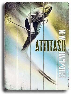 Artehouse LLC Attitash Vintage Advertisement Plaque