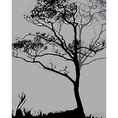 Carlyle Fine Art Nature Midnight Ginkgo by Jordan Carlyle Graphic Art; 15'' x 20''