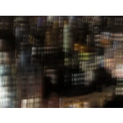 Carlyle Fine Art Architecture City Lights by Jordan Carlyle Graphic Art; 36'' x 48''