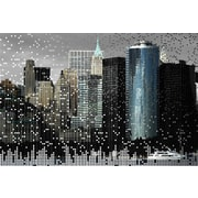 Carlyle Fine Art Architecture The Financial by Jordan Carlyle Graphic Art; 54'' x 72''