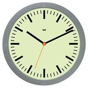 Bai Design 6'' Studio Modern Wall Clock; Railroad Chartreuse