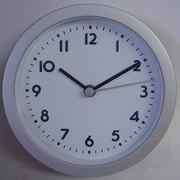 Bai Design 6'' Studio Modern Wall Clock; Landmark White