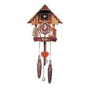 Black Forest Two Story Chalet Cuckoo Clock