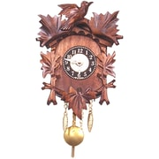 Black Forest Battery Operated Carved Clock