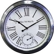 Ashton Sutton Elgin Classic 18'' Wall Clock