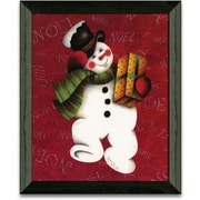 Timeless Frames Hurry Hurry Christmas Holiday by Andrea Roberts Framed Graphic Art