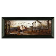 Timeless Frames To EverythIng by John Rossini Framed Painting Print