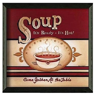 Timeless Frames Soup - It's Ready by Linda Spivey Framed Vintage Advertisement