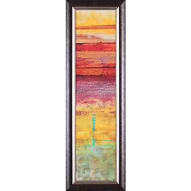 Art Effects The Four Seasons: Summer by Erin Galvez Framed Painting Print