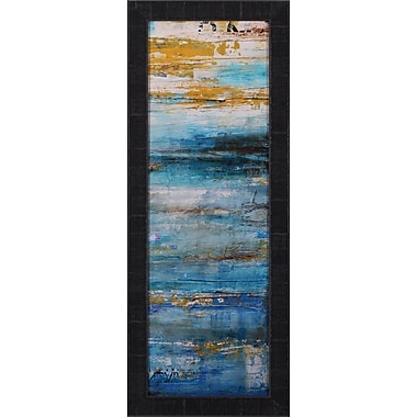 Art Effects Beyond The Sea II by Erin Ashley Framed Painting Print