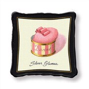 Fine Art Tapestries Sheer Glamour Throw Pillow