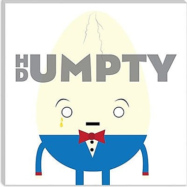 iCanvas Kids Children Humpty Dumpty Graphic Canvas Wall Art; 37'' H x 37'' W x 1.5'' D