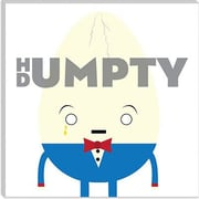 iCanvas Kids Children Humpty Dumpty Graphic Canvas Wall Art; 12'' H x 12'' W x 1.5'' D