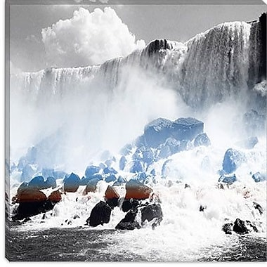iCanvas Canada Niagra Falls 2 Photographic Print on Canvas; 12'' H x 12'' W x 1.5'' D