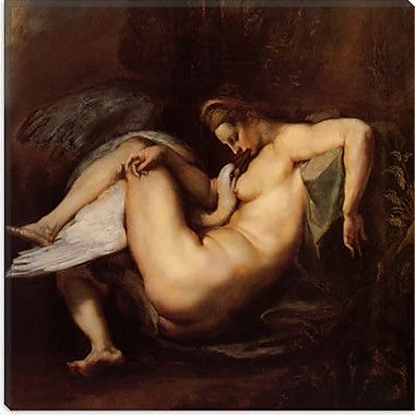iCanvas ''Leda and the Swan'' Canvas Wall Art by Peter Paul Rubens; 26'' H x 26'' W x 1.5'' D