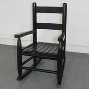 Dixie Seating Child's Rocking Chair; Black