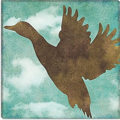 iCanvas Color Bakery ''Winter Lodge (Bird)'' Graphic Art on Canvas; 18'' H x 18'' W x 1.5'' D
