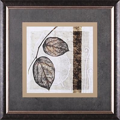 Art Effects Fall Leaves II by Christine Zalewski Framed Painting Print